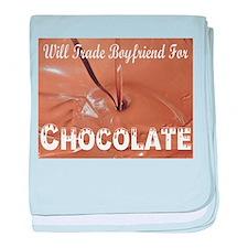 Will Trade Boyfriend baby blanket