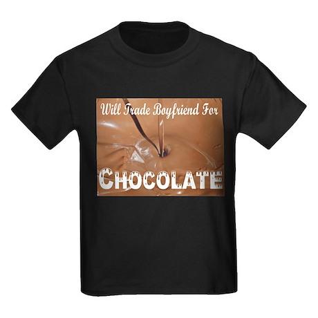 Will Trade Boyfriend Kids Dark T-Shirt