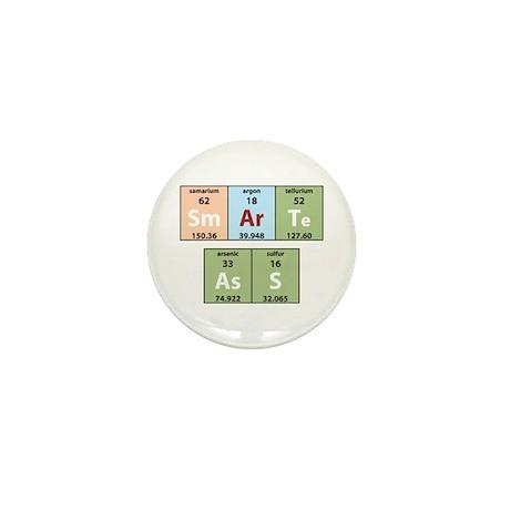 Chemistry Smart Ass Mini Button (10 pack)
