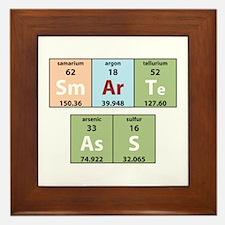 Chemistry Smart Ass Framed Tile
