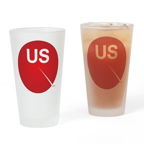We Are The 99 Percent Drinking Glass