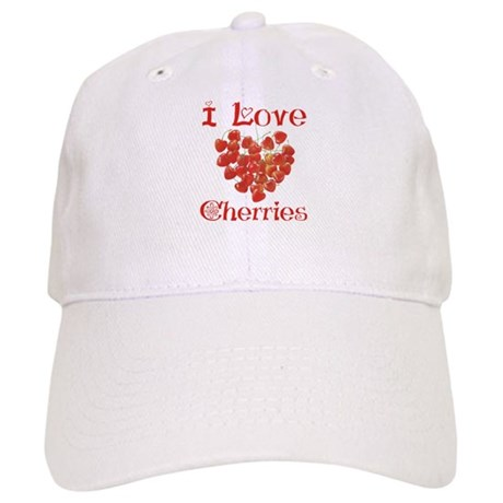 I Love Cherries Cap