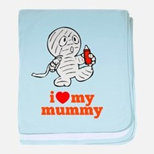 Little Mummy baby blanket
