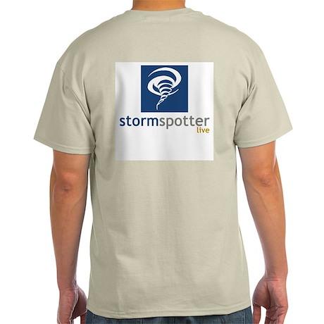 STORM SPOTTER LIVE (GREY T-SHIRT)