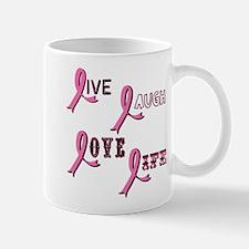 Breast Cancer Awareness Ribbo Mug