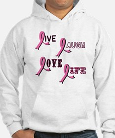 Breast Cancer Awareness Ribbo Hoodie
