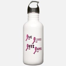 Breast Cancer Awareness Ribbo Water Bottle