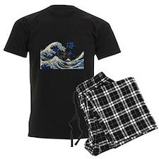 surfer (with Hokusai) Pajamas