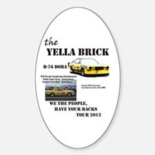 We have your backs Tour 2012 Decal