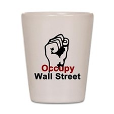 Occupy Wall Street - Shot Glass