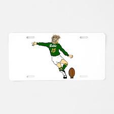 Springbok Rugby Fullback Aluminum License Plate