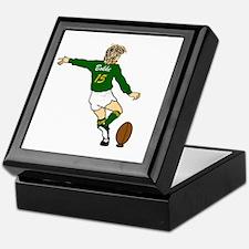 Springbok Rugby Fullback Keepsake Box