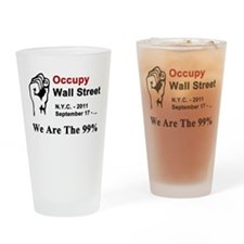 Occupy Wall Street - Pint Glass