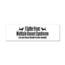 Basset Hound Car Magnet 10 x 3