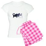 Running Huskies Women's Light Pajamas
