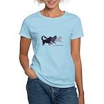 Running Huskies Women's Light T-Shirt