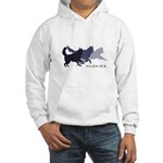 Running Huskies Hooded Sweatshirt