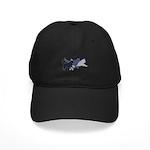 Running Huskies Black Cap