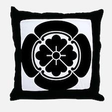 Square mokko Throw Pillow