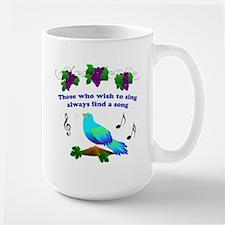 Singing Bluebird Mug