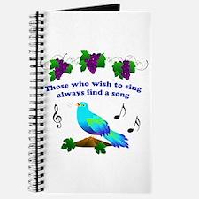 Singing Bluebird Journal