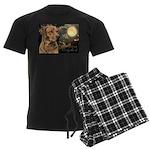 Moonlit Ridgeback Men's Dark Pajamas