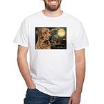 Moonlit Ridgeback White T-Shirt