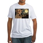 Moonlit Ridgeback Fitted T-Shirt