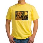 Moonlit Ridgeback Yellow T-Shirt