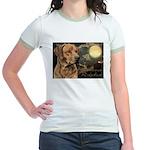 Moonlit Ridgeback Jr. Ringer T-Shirt