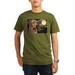 Moonlit Ridgeback Organic Men's T-Shirt (dark)
