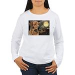 Moonlit Ridgeback Women's Long Sleeve T-Shirt