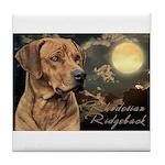 Moonlit Ridgeback Tile Coaster