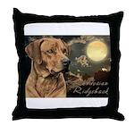 Moonlit Ridgeback Throw Pillow