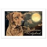 Moonlit Ridgeback Large Poster