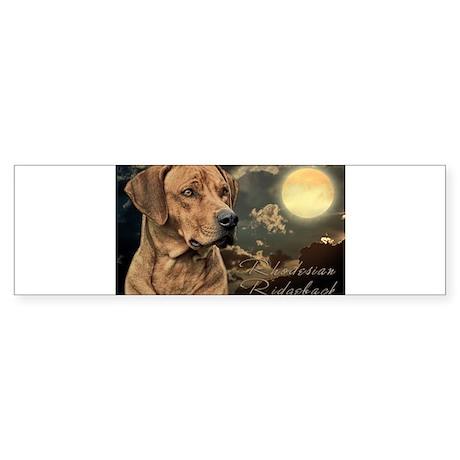 Moonlit Ridgeback Sticker (Bumper)