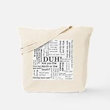 Unique Questions Tote Bag