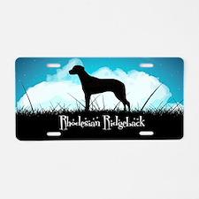 Nightsky Ridgeback Aluminum License Plate