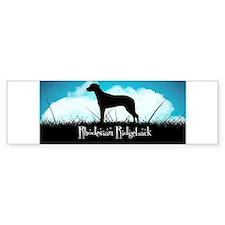 Nightsky Ridgeback Bumper Sticker