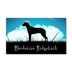Nightsky Ridgeback 22x14 Wall Peel
