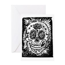 Day of the dead Skull Greeting Cards