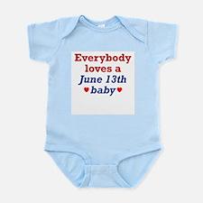 June 13th Infant Creeper
