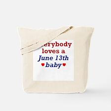 June 13th Tote Bag