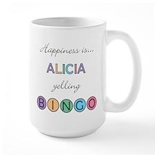 Alicia BINGO Mug