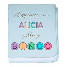 Alicia BINGO baby blanket