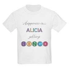 Alicia BINGO T-Shirt