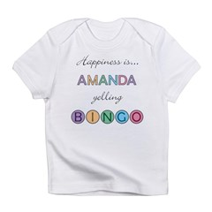 Amanda BINGO Infant T-Shirt