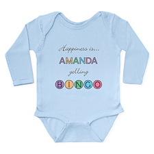 Amanda BINGO Long Sleeve Infant Bodysuit