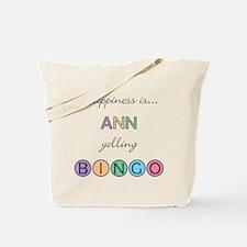 Ann BINGO Tote Bag