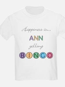 Ann BINGO T-Shirt